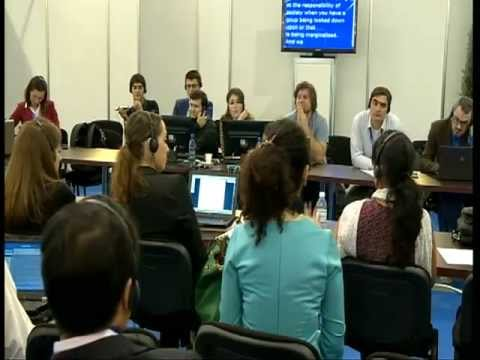 Freedom of expression and freedom from hate online (Young people combating hate speech on-line)
