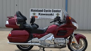 9. $14,499:  For Sale Pre Owned 2009 Honda Goldwing GL1800 Red with Navigation