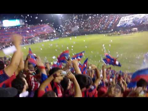recibimiento Cerro Porteño vs Atle. Nacional - La Plaza y Comando - Cerro Porteño