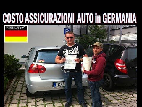 COSTO ASSICURAZIONI AUTO GERMANIA !!! (confronto con Italia)