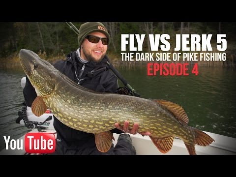 Fly vs Jerk 5 - Episode 4 - The dark side of Pike fishing