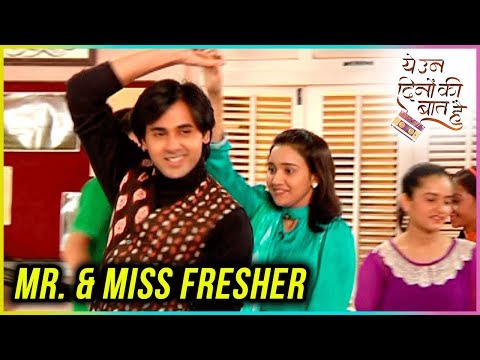 Sameer And Naina To Become MR. & MISS FRESHER?   Y