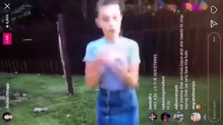 """millie bobby brown and noah schnapp recreate """"personal"""" music video by HRVY"""