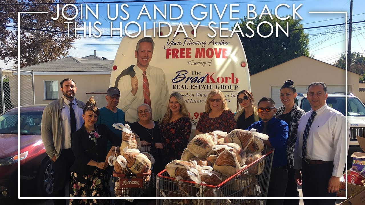 Help Others in Burbank Celebrate Thanksgiving!