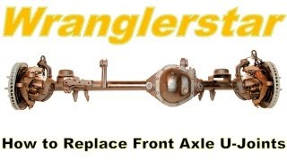 Follow Wranglerstar on Facebook for more videos http://www.facebook.com/pages/Wranglerstar/453208754723615This video series will teach you how to remove front axle shafts, front axle hub bearings, and u-joints from any Dana 30 or Dana 44 front axle shafts. Jeep Wranglers Tj comes with Dana 30 front axles. Only the Rubicon model comes factory with a Dana 44 front axle. This is a simple DIY project that can be done with a basic set of hand tools.