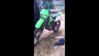 10. KLX 300 throttle response