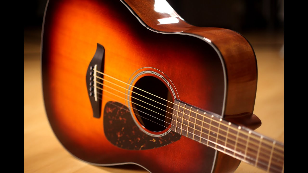 Yamaha FG800 Acoustic Guitar Demo