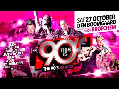 Trailer for This is 90's at Den Boomgaard Broechem