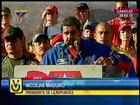 Maduro anunció que exigirán visa a estadounidenses que ingresen a Venezuela