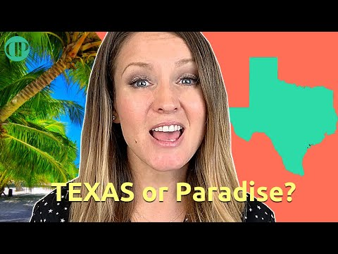 Why I love living in Texas rather than a Paradise like California or Florida