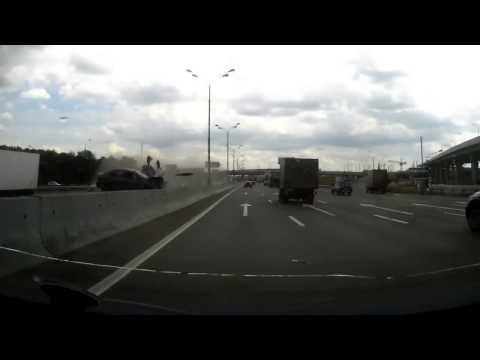 Авария Москва МКАД