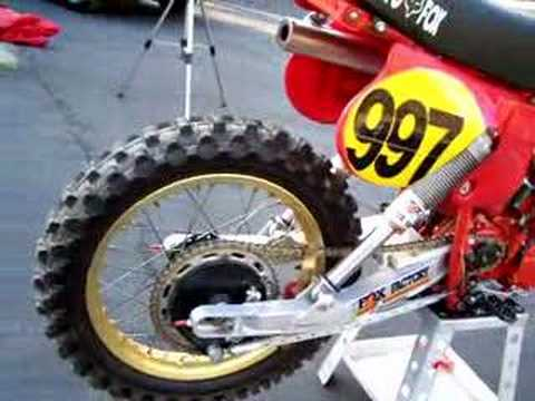 CR 250 R Elsinore Moto-X Fox bike