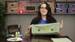 DIY Couples Pillowcase With Fabric Paint : Craft Projects With Paint - YouTube