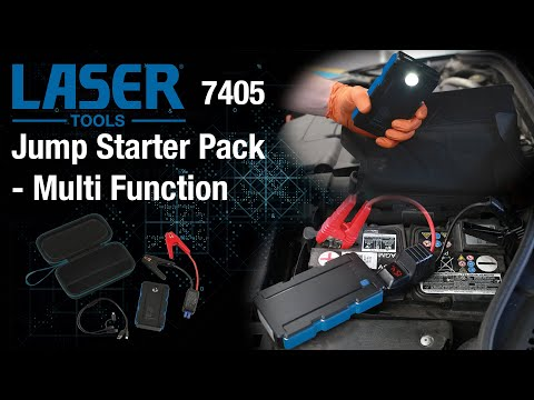 7405 Jump Starter Pack - Multi-Function