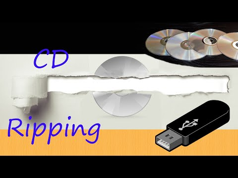 How to rip a CD to MP3