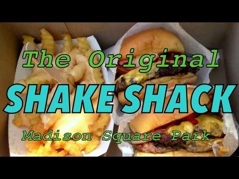 VIDEO: Eating burgers at the original Shake Shack