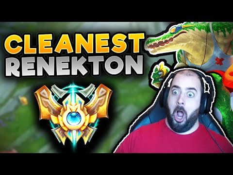 CHALLENGER HERE I COME! THE CLEANEST RENEKTON GAME! RENEKTON TOP GAMEPLAY SEASON 7 League Of Legends