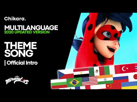 MIRACULOUS | MULTILANGUAGE: Theme Song — Miraculous, Simply The Best! [2020 BIGGEST COMPILATION]