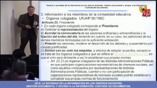 UNIDAD 9 - Organización Y Gestión De Centros - Masterprof UMH.