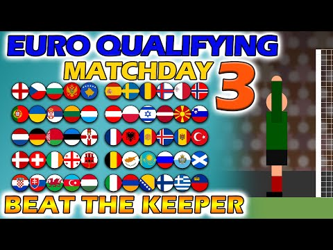 Beat The Keeper - UEFA Euro 2020 Qualifying Matchday 3