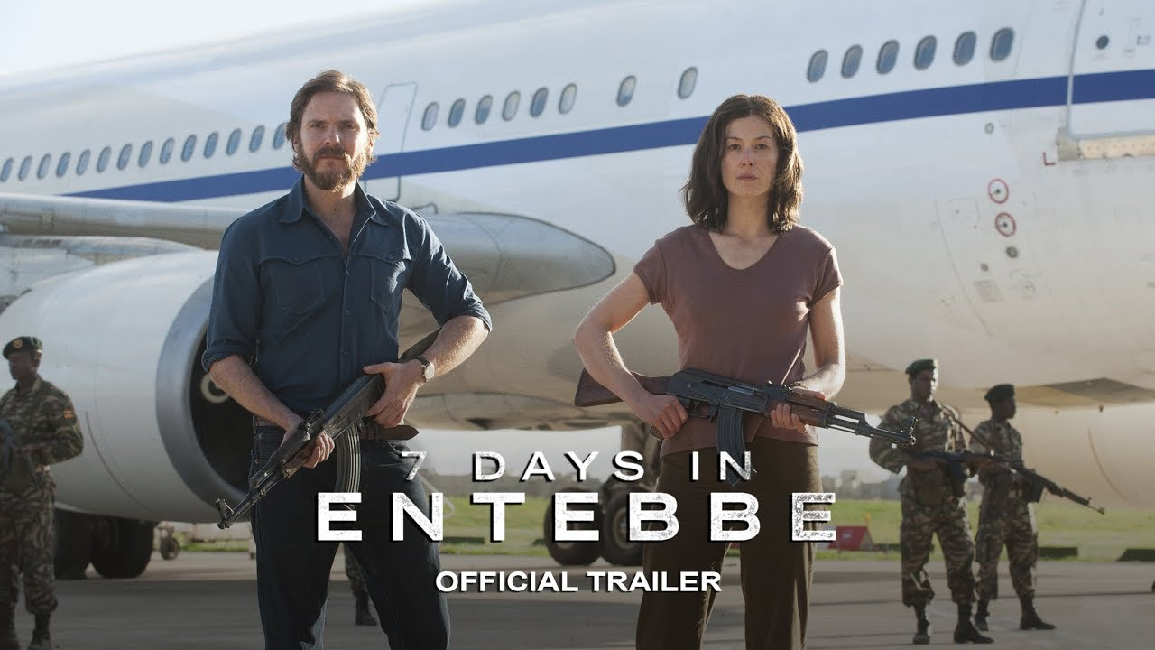 Watch Rosamund Pike & Daniel Brühl in Hijacking Clock-Ticking Thriller that Shook the World '7 Days in Entebbe' (Trailer)