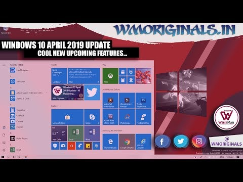 Windows 10 April 2019 Update ♻ | Upcoming Windows 10 Features Every Windows User Should Know 🐱👓