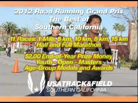 USATF Southern California 2012 Road Running Grand Prix Race Series