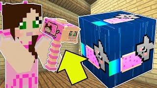 Video Minecraft: NYAN CAT LUCKY BLOCK!!! (NYAN JEN HAMMER, RAINBOW GAUNTLET, & MORE!) Mod Showcase MP3, 3GP, MP4, WEBM, AVI, FLV Juni 2019