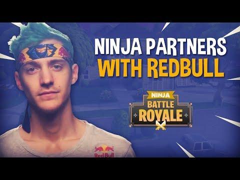 Ninja Partners With Redbull!! - Fortnite Battle Royale Gameplay - Ninja (видео)