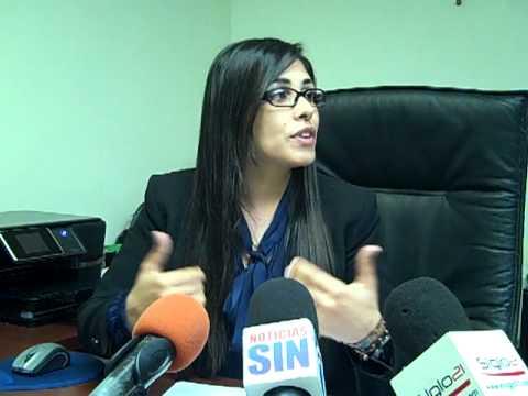 Rueda de prensa de Olga Diná Llaverías, fiscal provincia Santo Domingo