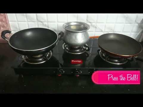 Prestige Marvel Glass 3 Burner Gas Stove OPENING / REVIEW (Black) Best 3 burner gas stove in India!