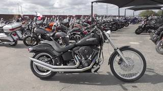 8. 058609   2007 Harley Davidson Softail Night Train   FXSTB - Used motorcycles for sale