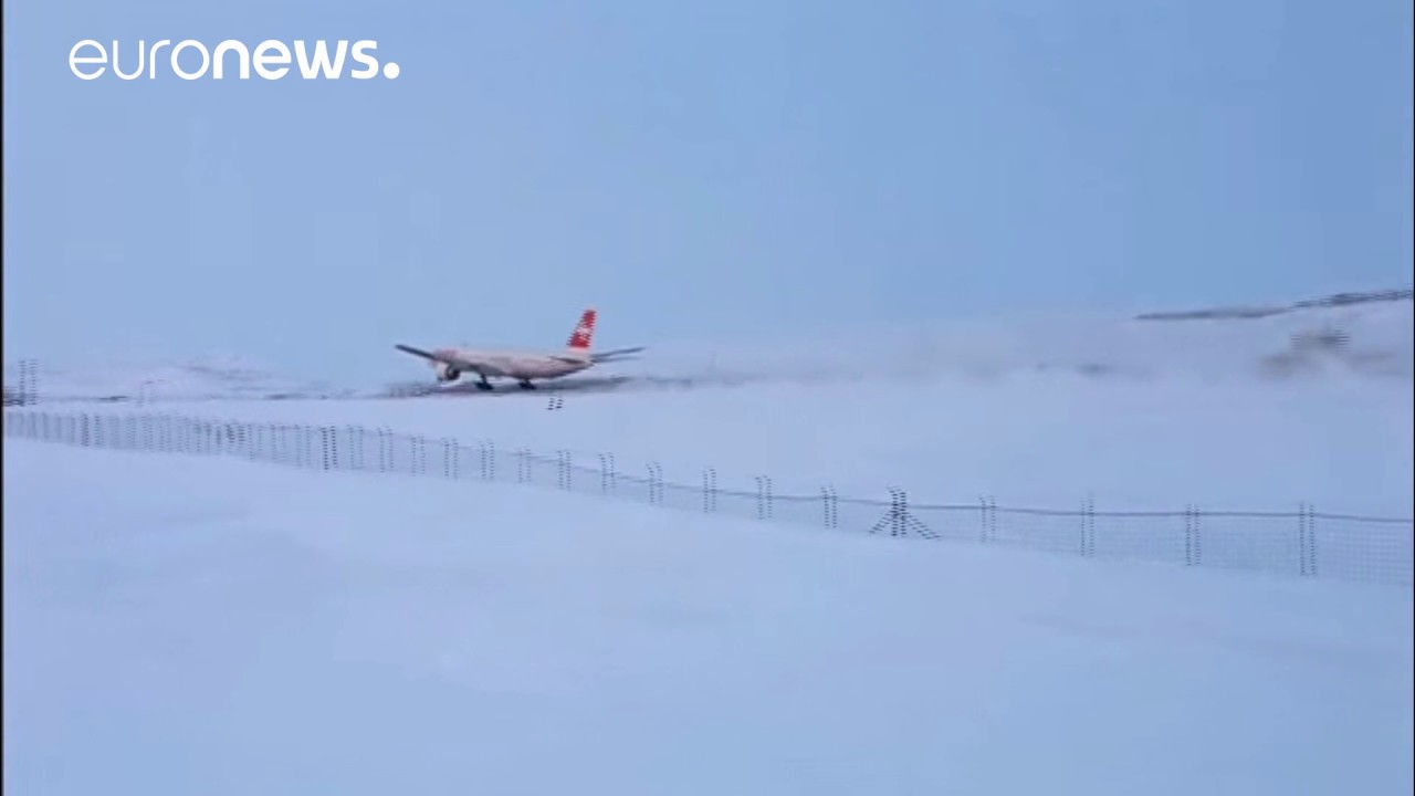 Swiss airplane makes unscheduled landing at tiny airport