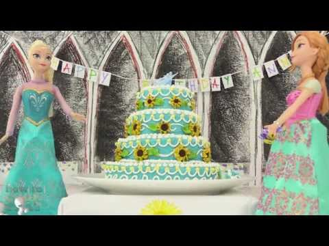 FROZEN FEVER CAKE How To Cook That Ann Reardon