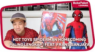 Download Video Unboxing Action Figure Jagoan Marvel: Spiderman Homecoming feat. Frans Sanjaya | BukaPaket for Him MP3 3GP MP4