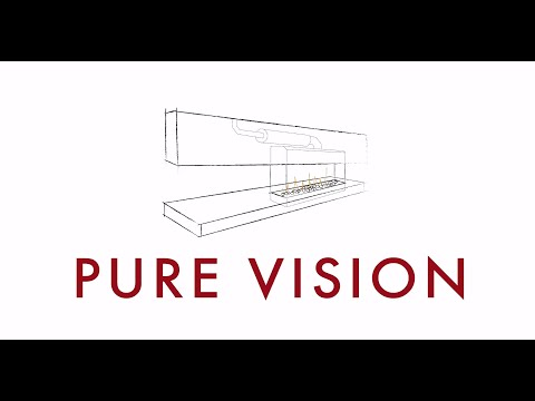 Real Flame Pure Vision | Gas Fireplace