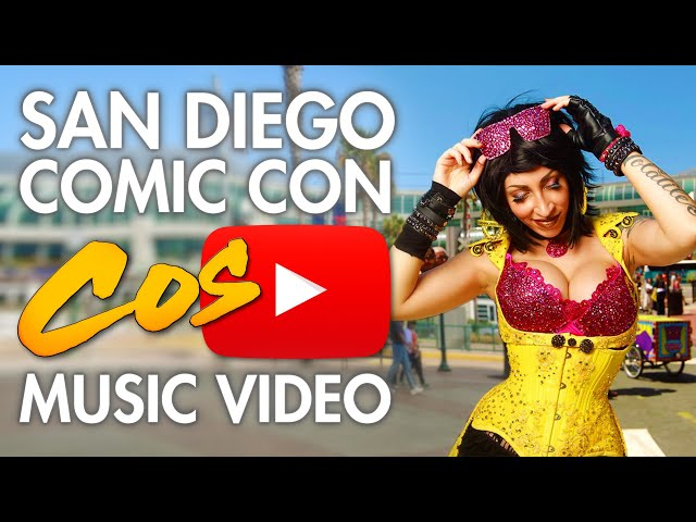 The Cosplay Music Video of San Diego Comic Con 2016 (SDCC)