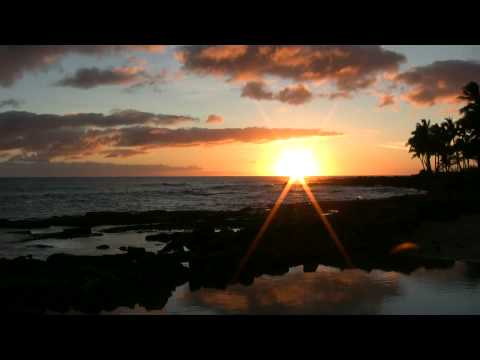 Soothing Relaxing Music Whispering Sea (Full) & Sunset Kauai