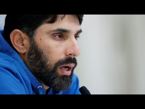 Pakistan's test captain Misbah ul Haq media talk | 24 News HD