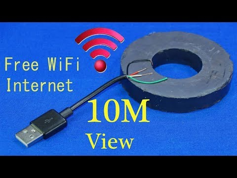 Download How to get free WiFi Internet anywhere iPhone get free WiFi at home without a router WiFi free