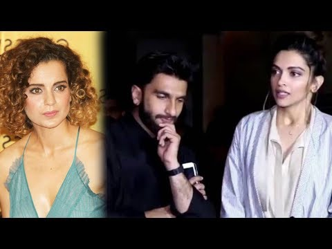 Kangana Ranaut Shows No Interest To Wish Deepika R