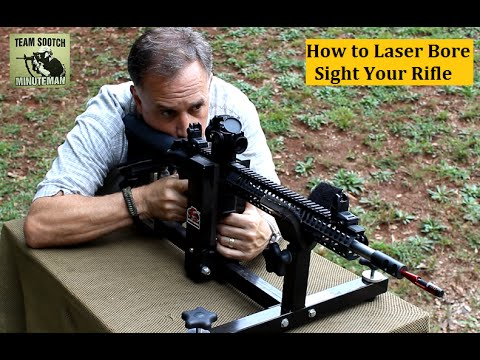 rifle - Fun Gun Reviews Presents:How to Laser Bore Sight a Rifle. Using the LaserLyte Universal Mini Bore Sight(MBS-1). It saves money, time and a lot of frustration...