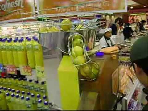 Orange Juice Squeezer I saw in Camacho la Molina Lima Peru