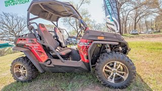 4. CF Moto - Feature rich and price savvy - UTV ZFORCE 800EX