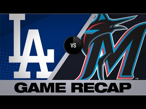 Video: Marlins overpower Dodgers in a 13-7 win | Dodgers-Marlins Game Highlights 8/15/19