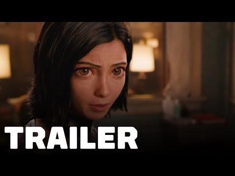Alita: Battle Angel Trailer (2018) Rosa Salazar, Christoph Waltz