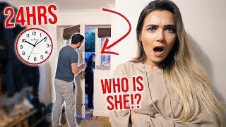 Video I Spent The Night In My Boyfriends House & He Had No Idea... (24 Hour Challenge) MP3, 3GP, MP4, WEBM, AVI, FLV Februari 2019