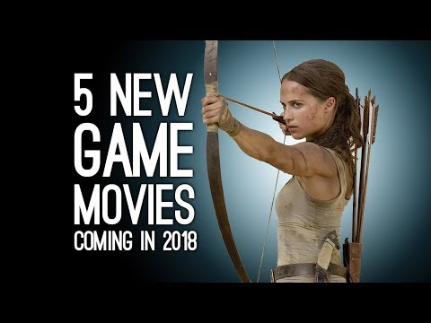5 New Videogame Movies Coming in 2018