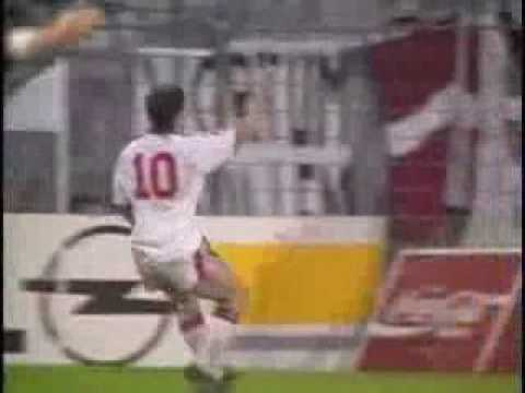 Gol de Mark Hughes en la final de la Recopa Europea 1991