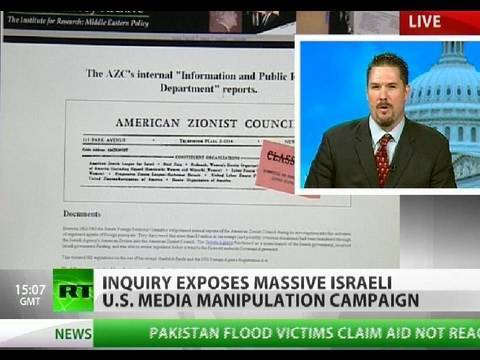 Declassified: Massive Israeli manipulation of US media exposed